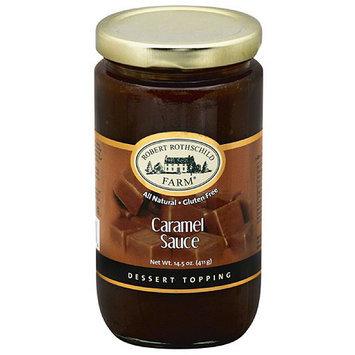 Robert Rothschild Farm Caramel Sauce Dessert Topping, 14.5 oz, (Pack of 6)