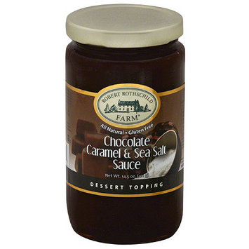 Robert Rothschild Farm Caramel & Sea Salt Chocolate Sauce Dessert Topping, 14.5 oz, (Pack of 6)