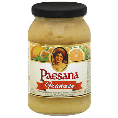 Paesana Francese Cooking Sauce, 15.75, (Pack of 6)
