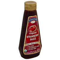 St. Dalfour Organic Strawberry Sauce, 10.6 oz, (Pack of 6)