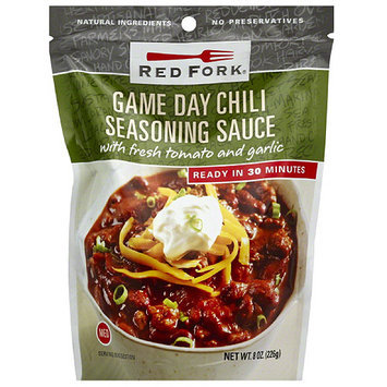 Red Fork Game Day Chili Seasoning Sauce, 8 oz, (Pack of 6)