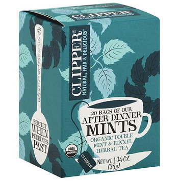 Clipper After Dinner Mints Herbal Tea