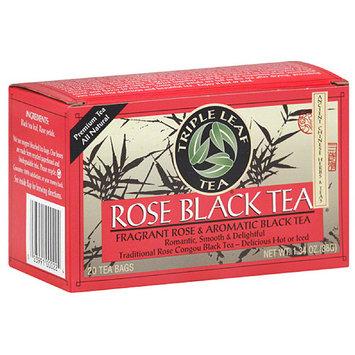 Triple Leaf Tea Rose Black Tea Bags, 20 count, 1.34 oz (Pack of 6)