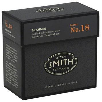 Steven Smith Teamaker Brahmin Black Tea, 15 count, 1.48 oz, (Pack of 6)
