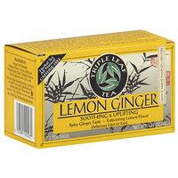 Triple Leaf Tea Lemon Ginger Herbal Tea Bags, 20 count, 1.41 oz (Pack of 6)