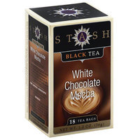 Stash Tea Stash White Chocolate Mocha Black Tea Bags, 18 count, 1.2 oz (Pack of 6)