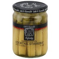 Sable & Rosenfeld Tipsy Sweet & Spicy Cocktail Stirrers, 16 fl oz, (Pack of 6)