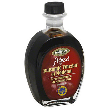 Fratelli Mantova Aged Balsamic Vinegar of Modena, 8.5 fl oz (Pack of 6)