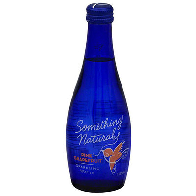 Something Natural Pink Grapefruit Sparkling Water, 11 fl oz (Pack of 12)