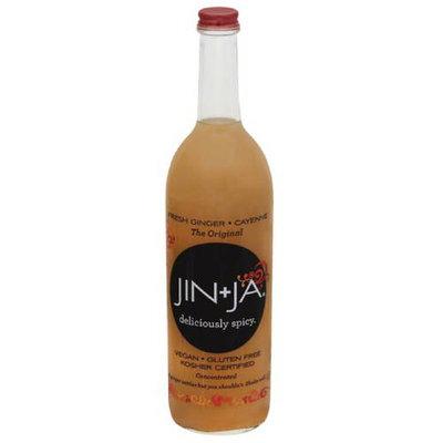Jin + Ja Deliciously Spicy Ginger Beverage, 25.3 fl oz, (Pack of 12)