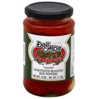 Dell Alpe Dell(') Alpe Imported Marinated Roasted Red Peppers, 12 oz, (Pack of 12)