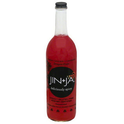 Jin + Ja Deliciously Spicy Dragon Fruit Beverage, 25.3 fl oz, (Pack of 12)