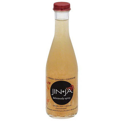 Jin + Ja Jin+Ja Deliciously Spicy Fresh Ginger Cayenne Green Tea Lemon, 6.3 fl oz, (Pack of 12)