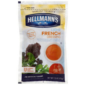 Hellmans Hellmann's Light French Dressing, 1.5 oz, 102 count