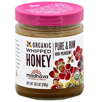 Madhava Honey Madhava Naturally Sweet Organic Whipped Honey, 10.5 oz, (Pack of 6)