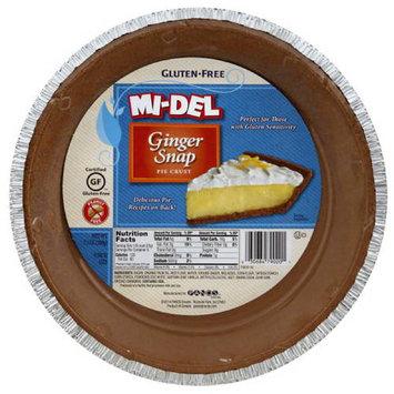 Midel Mi-Del Ginger Snap Pie Crust, 7.1 oz, (Pack of 12)