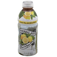 Herbal Mist Lemon Tea Made with Yerba Mate, 20 fl oz, (Pack of 12)