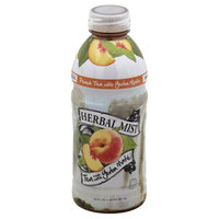 Herbal Mist Peach Tea Made with Yerba Mate, 20 fl oz, (Pack of 12)