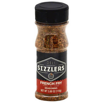 Altius Deli Sizzlers French Fry Seasoning, 3.88 oz, (Pack of 6)