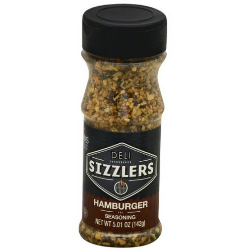 Altius Deli Sizzlers Hamburger Seasoning, 5.01 oz, (Pack of 6)