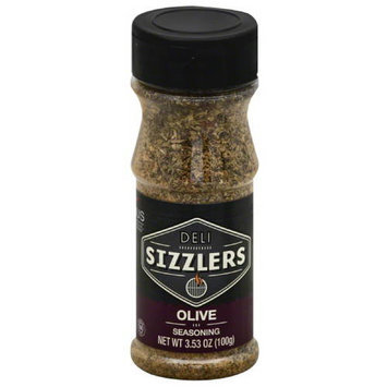Altius Deli Sizzlers Olive Seasoning, 3.53 oz, (Pack of 6)