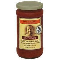 Mario Batali Cacciatore Simmer & Serve Sauce, 16 oz, (Pack of 6)