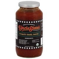 Uncle Steves Uncle Steve(')s Tomato Basil Sauce, 25 oz, (Pack of 6)