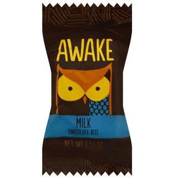 Awake Milk Chocolate Bite, 0.53 oz, (Pack of 50)