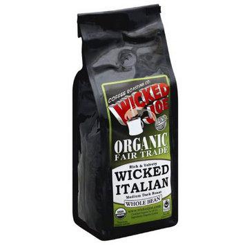 Wicked Joe Coffee Wicked Joe Wicked Italian Medium Dark Roast Whole Bean Coffee, 12 oz, (Pack of 6)