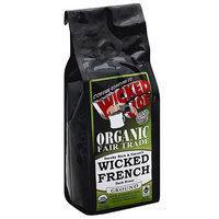 Wicked Joe Coffee Wicked Joe Wicked French Dark Roast Ground Coffee, 12 oz, (Pack of 6)
