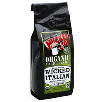 Wicked Joe Coffee Wicked Joe Wicked Italian Medium Dark Roast Ground Coffee, 12 oz, (Pack of 6)