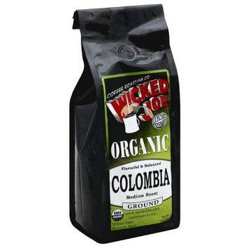 Wicked Joe Coffee Wicked Joe Colombia Medium Roast Ground Coffee, 12 oz, (Pack of 6)e