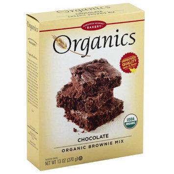 European Gourmet Bakery Organics Chocolate Organic Brownie Mix, 13 oz, (Pack of 12)