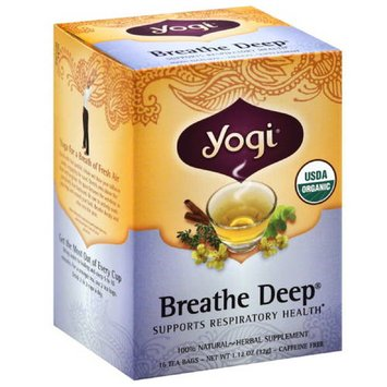 Yogi Tea's Yogi Breathe Deep Tea, 1.12 oz, (Pack of 6)