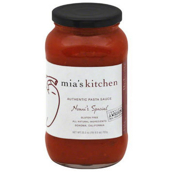 Mias Kitchen Mia's Kitchen Arrabiata Authentic Pasta Sauce, 25.5 oz, (Pack of 6)