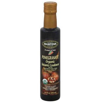 Fratelli Mantova Pomegranate Organic Balsamic Vinegar, 8.5 fl oz, (Pack of 6)