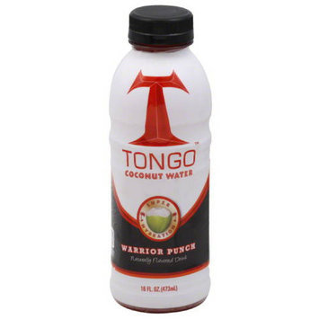 Tongo Coconut Water Tongo Warrior Punch Coconut Water, 16 fl oz, (Pack of 12)