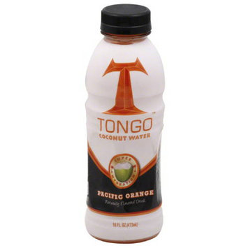 Tongo Coconut Water Tongo Pacific Orange Coconut Water, 16 fl oz, (Pack of 12)