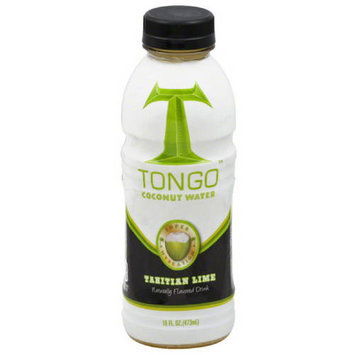 Tongo Coconut Water Tongo Tahitian Lime Coconut Water, 16 fl oz, (Pack of 12)