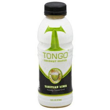 Tongo Coconut Water Tongo Tahitian Lime Coconut Water, 16 fl oz, (Pack of 12)