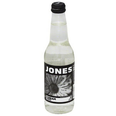 Jones Cream Cane Sugar Soda, 12 fl oz, (Pack of 12)