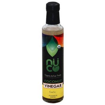 Nuco Garlic Coconut Vinegar, 8 fl oz, (Pack of 6)