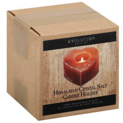 Evolution Salt Co. Heart Himalayan Crystal Salt Candle Holder, (Pack of 12)