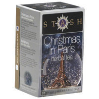 Stash Tea Stash Christmas in Paris Herbal Tea, 1.2 oz, (Pack of 8)