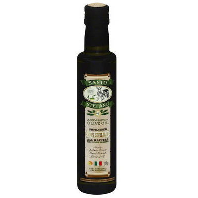 Santos Stefano Santo Stefano Unfiltered Extra-Virgin Olive Oil, 8.45 fl oz, (Pack of 6)