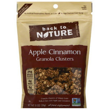 Back to Nature Apple Cinnamon Granola Clusters, 11 oz, (Pack of 6)