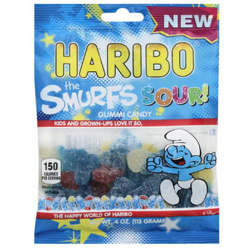 Haribo The Smurfs Sour! Gummi Candy