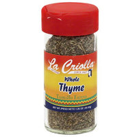 La Criolla Whole Thyme, 1.25 oz, (Pack of 12)