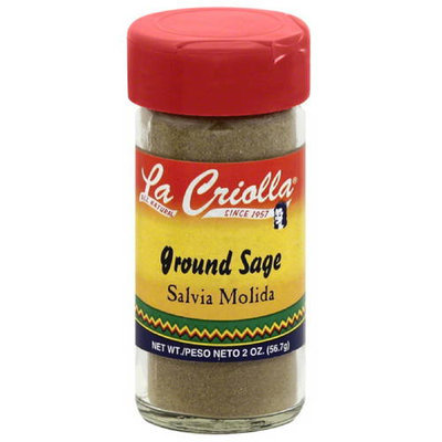 La Criolla Ground Sage, 2 oz, (Pack of 12)