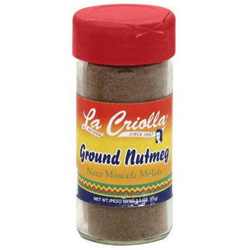 La Criolla Ground Nutmeg, 2.5 oz, (Pack of 12)